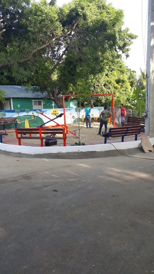 Inauguración de Parque de La Curva